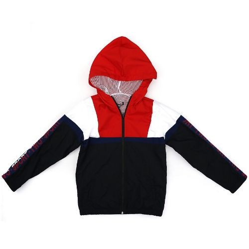 Jaqueta Masculina Infantil Quebra Vento Preta