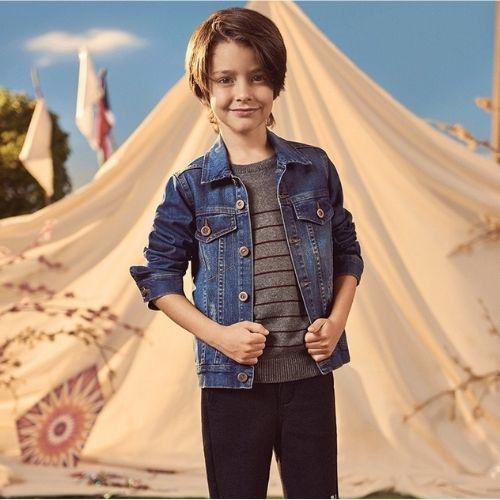 Jaqueta Jeans Infantil Masculina Colcci Kids