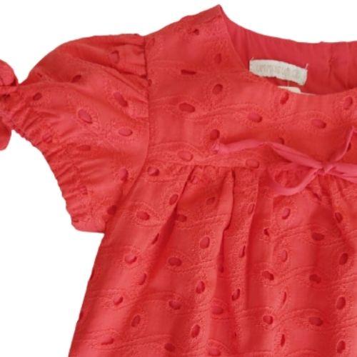 Macacão Infantil Feminino Laise Vermelho