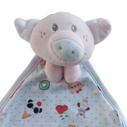 Naninha Bebê Feminina Porquinha Rosa
