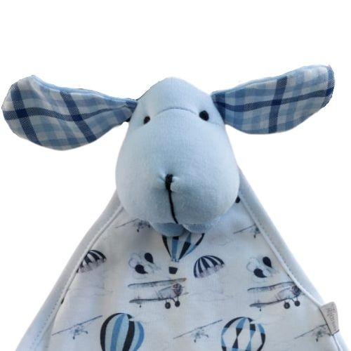 Naninha Bebê Masculina Cachorrinho Azul