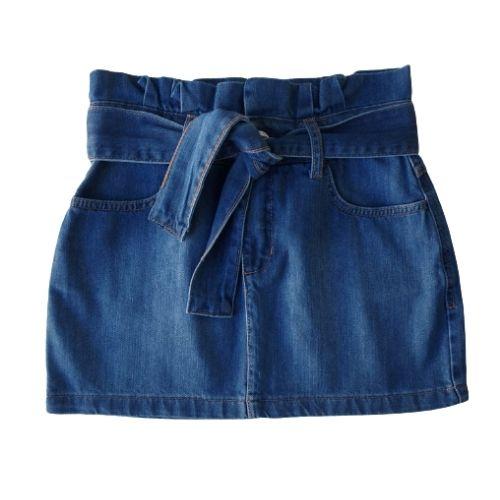 Saia Jeans Juvenil Feminina Clochard