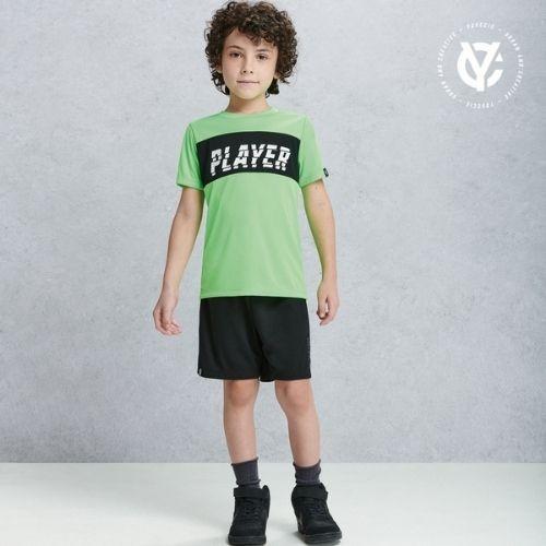Short Infantil Masculino Preto Sports Youccie