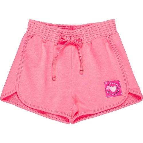 Shorts Feminino Infantil Barra Arredondada
