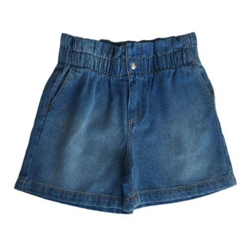 Shorts Infantil Feminino Jeans Clochard