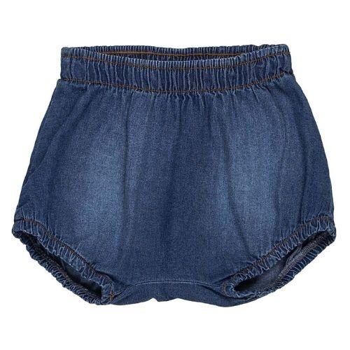 Tapa Fralda Bebê Feminino Jeans