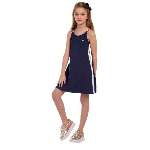 Vestido Infantil Feminino Alcinha