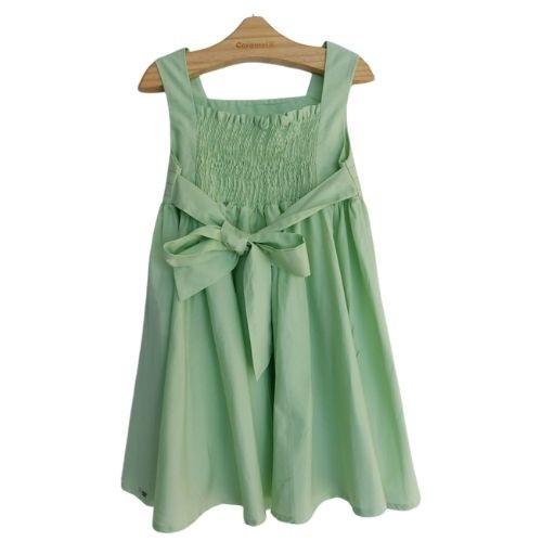 Vestido Infantil Feminino Alcinha com Faixa
