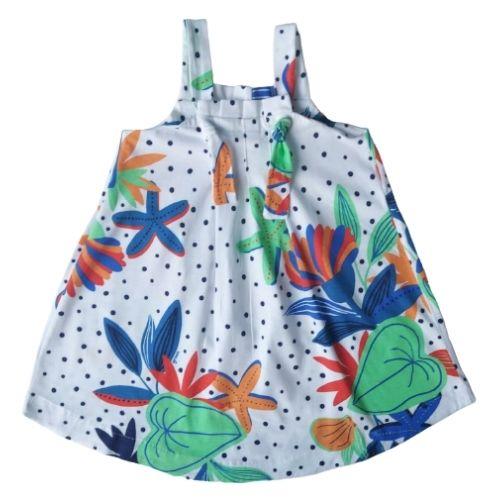 Vestido Infantil Feminino Alcinha Poá Green By Missako