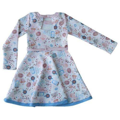 Vestido Infantil Feminino Docinhos