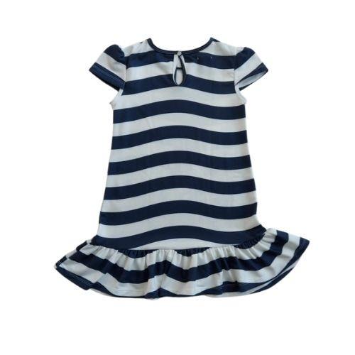 Vestido Infantil Feminino Listrado