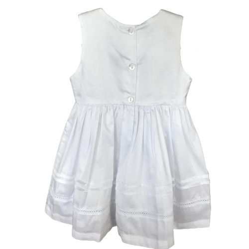 Vestido Feminino Regata Branco Batizado