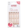Kiss New York Salon Naturals Stiletto Longo