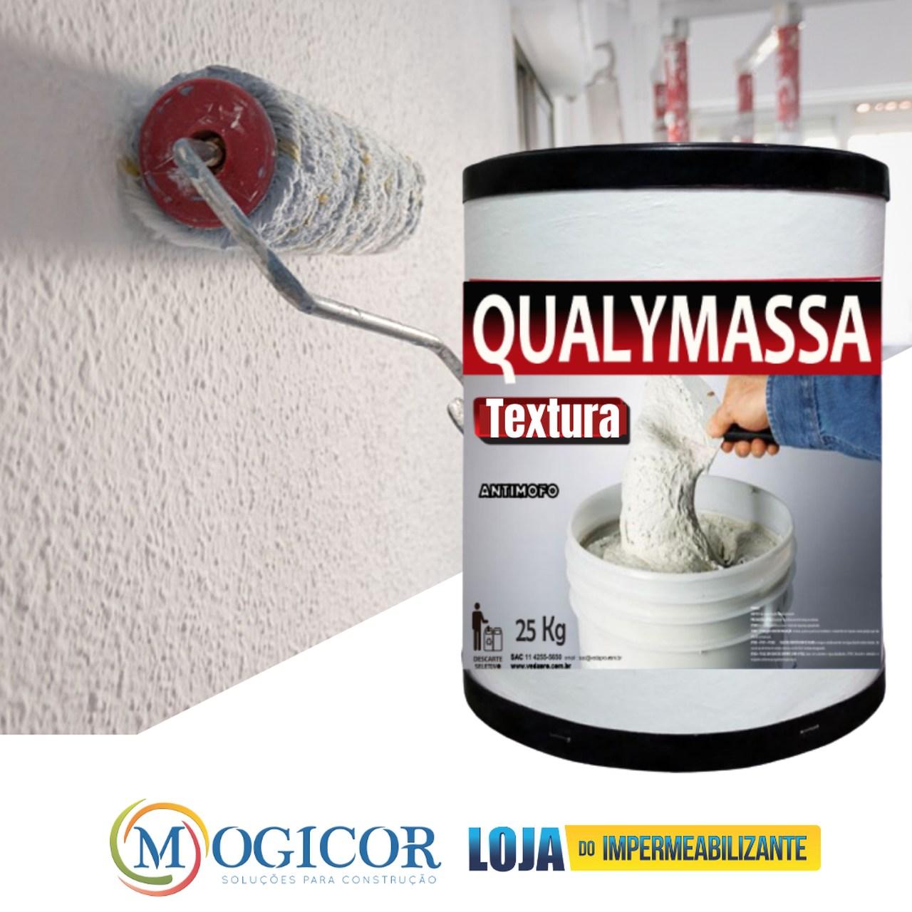 25kg Textura Lisa Rola Fácil p/ Paredes Rebocadas e Pintadas.