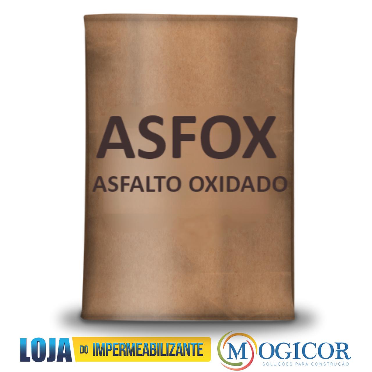Bloco de Asfalto Oxidado Asfox Impermeabilizante - 20kg Saco Dryko