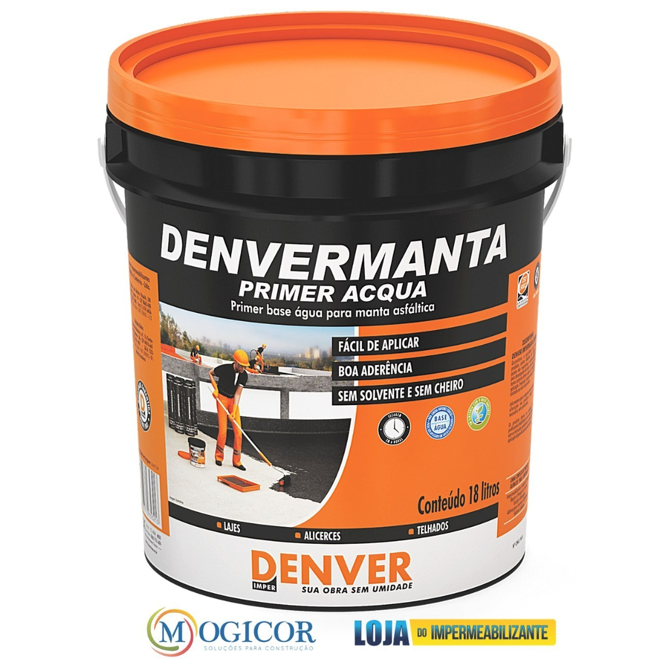 Denvermanta Primer Acqua 3,6 L