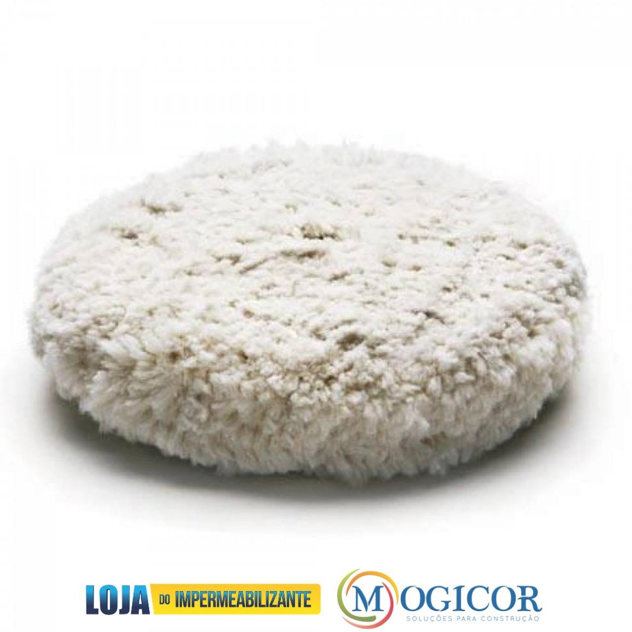 Disco para Polimento Dupla Face Branco p/ Superfícies Lisas, Chapeadas ou Pintadas - Compel