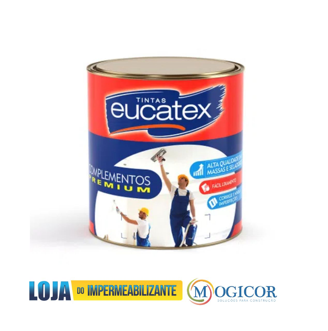 Eucatex Massa Corrida 1,45 kg
