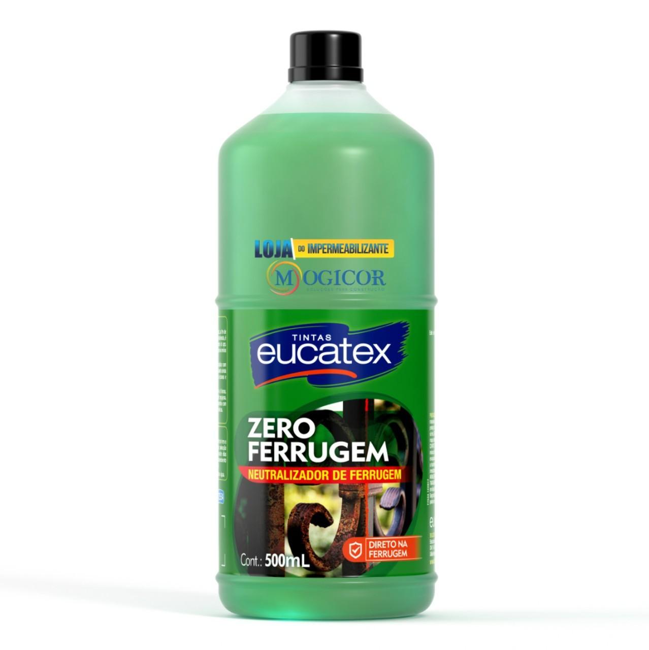 Neutralizador e Removedor de Ferrugem - Zero Ferrugem Eucatex