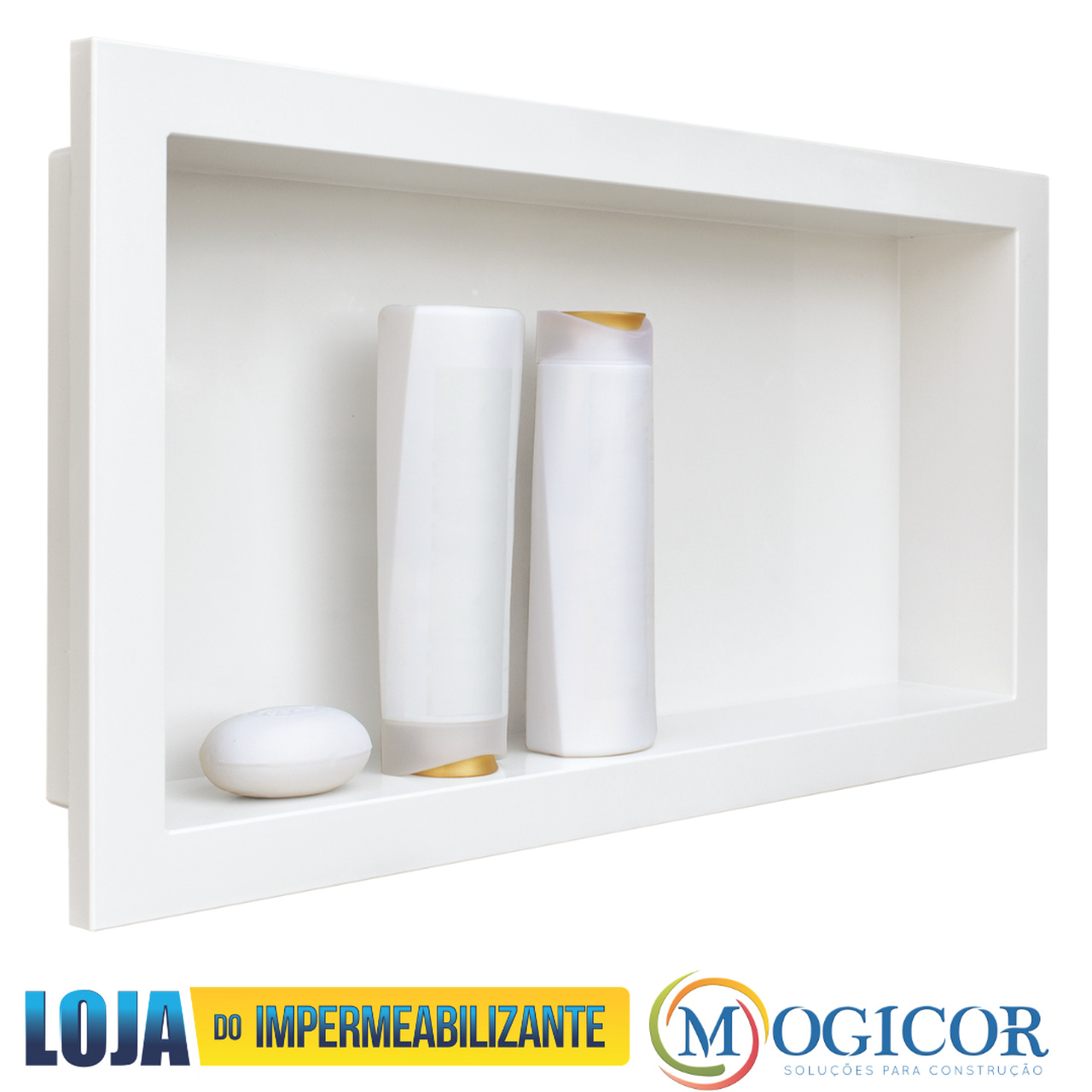 Nicho Embutido P/ Paredes Banheiros Box Salas - Cores