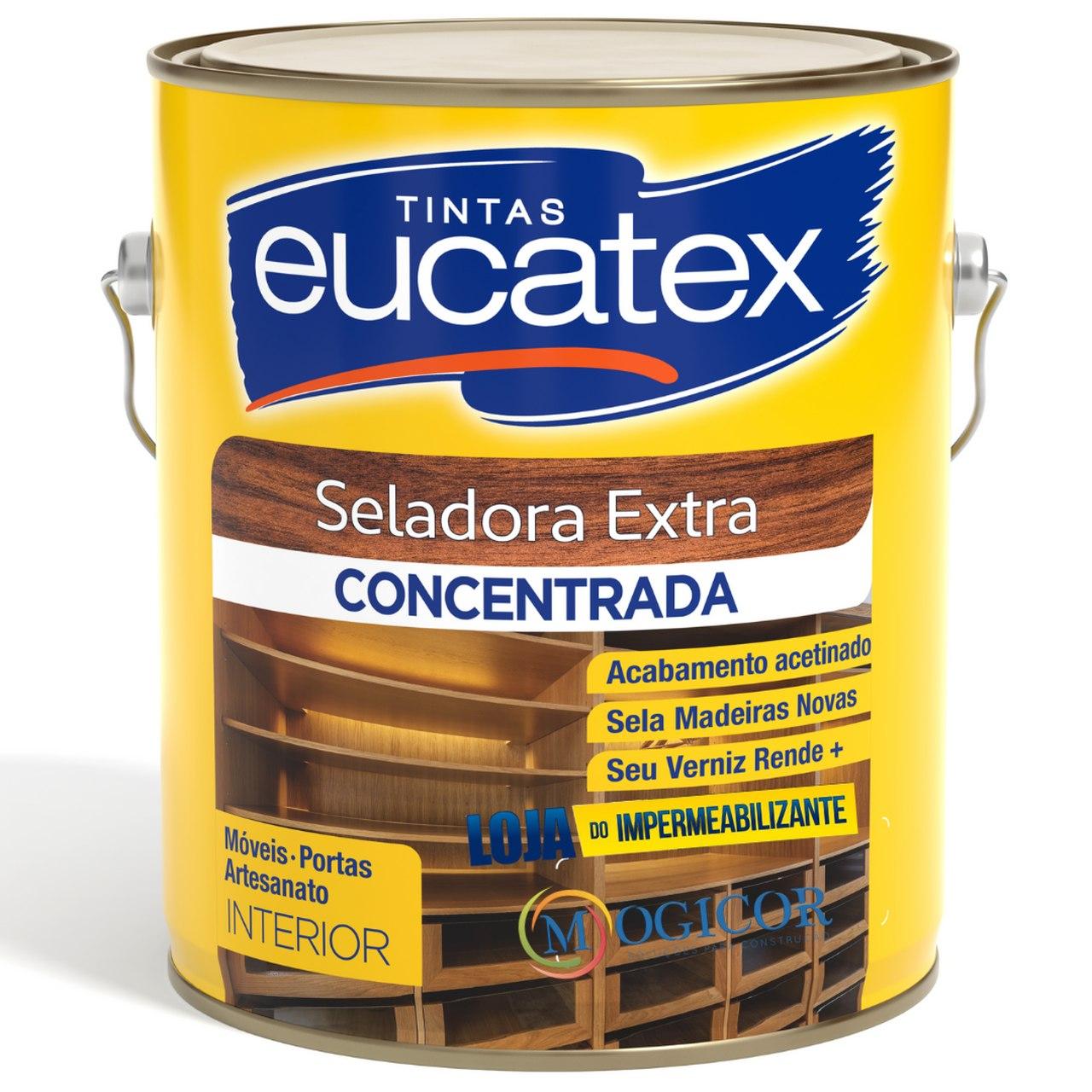 Seladora Fundo P/ Madeira Extra Artesanato 3,6l Antifungo - Eucatex