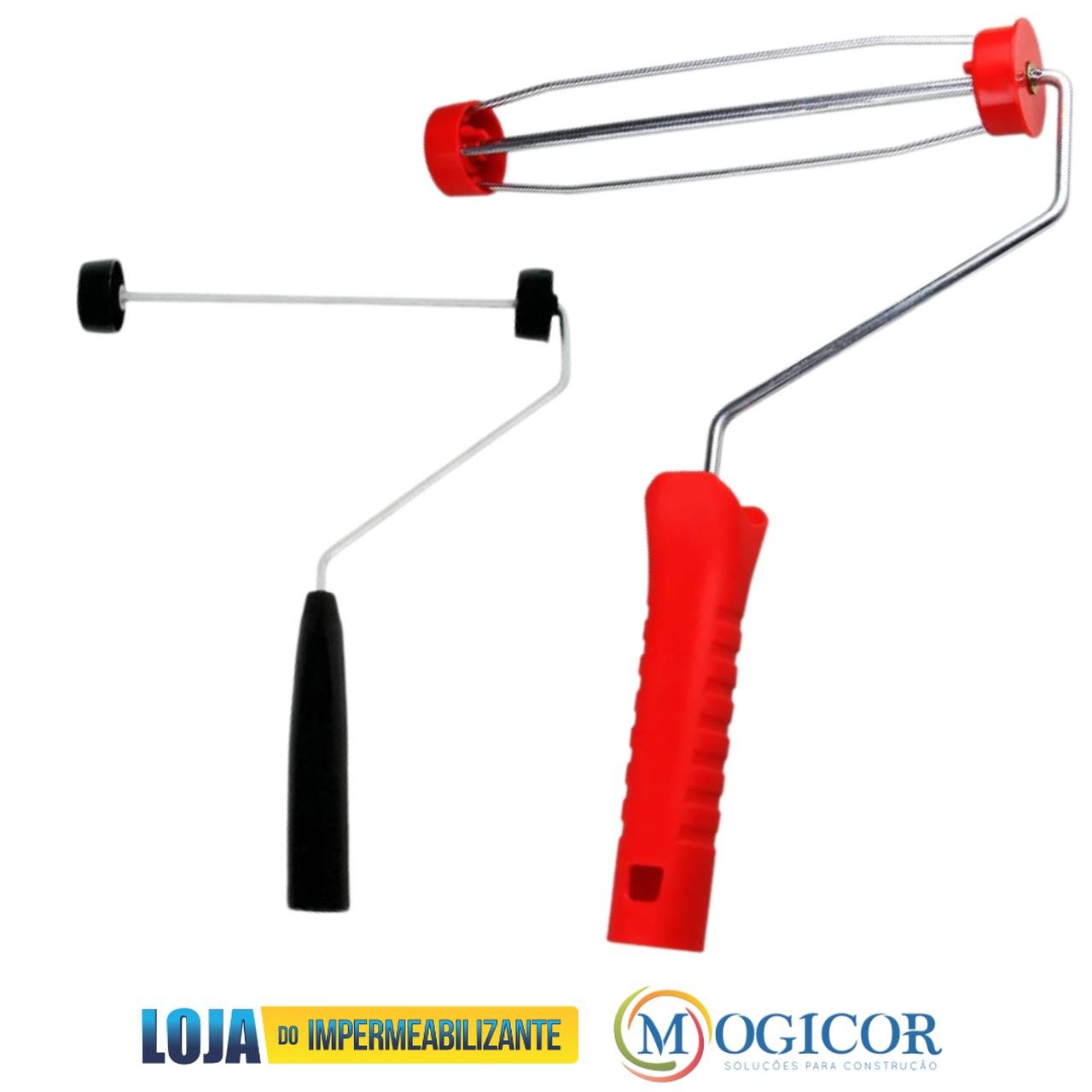 Suporte Garfo Pressão Gaiola e Simples p/ Rolos 23cm - Compel