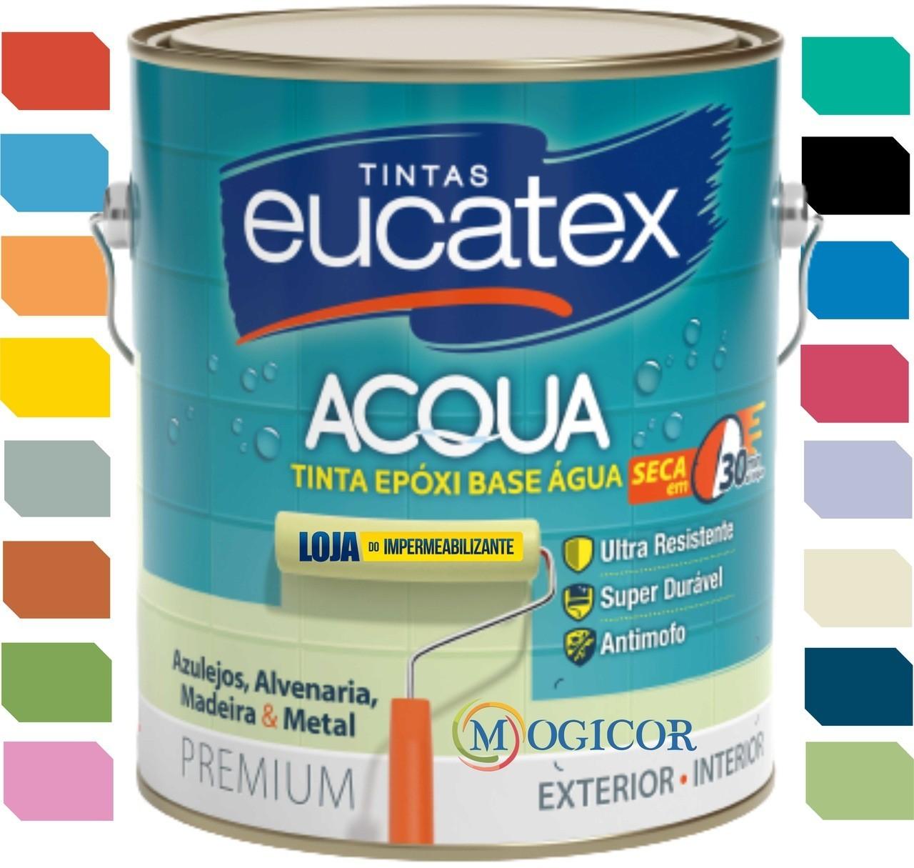 Tinta Epóxi Base Água 3,6l - Eucatex