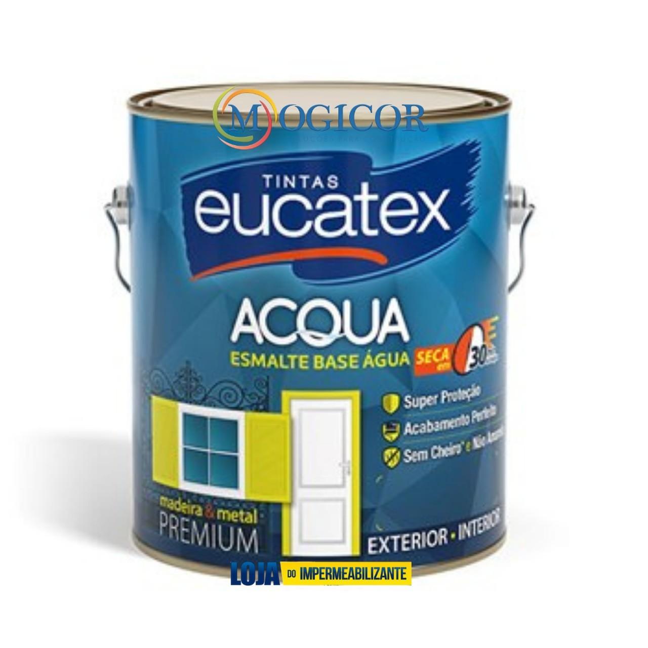 Tinta Esmalte Base Água Premium 3,6l - Eucatex