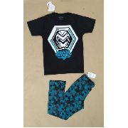 Pijama Infantil Menino Marisol - Max Steel, Ben 10, Gumball