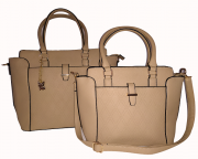 Bolsa Kit C/2 bolsas Tote bag de Ombro Transversal