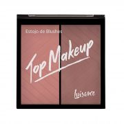 Estojo de Blushes Top Makeup Luisance - L1038 cor B