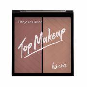 Estojo de Blushes Top Makeup Luisance - L1038 cor C