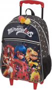 Mochila Infantil com carrinho Miraculous Ladybug Girls - Pacific