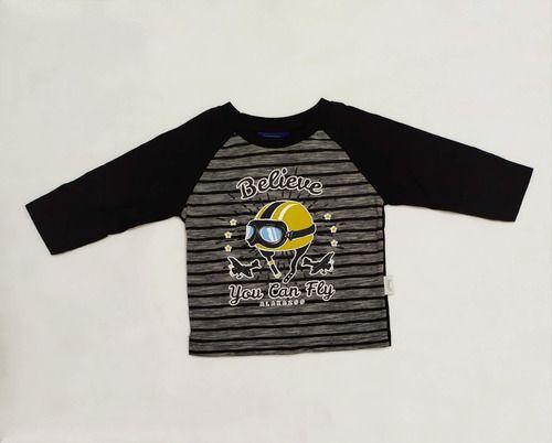 Camiseta Manga Longa Bebê Menino Blusa Infantil Avulsa