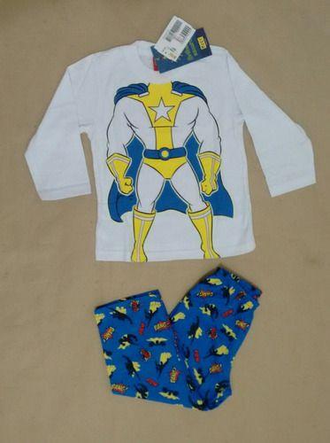 Pijama infantil masculino com estampa que brilha no escuro - Kyly