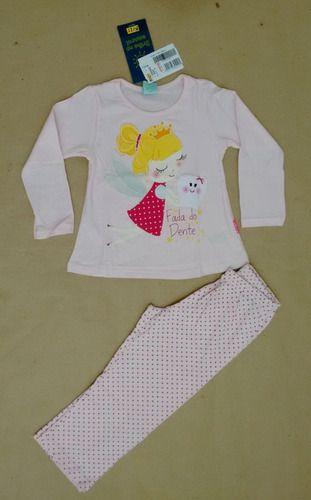 Pijama menina com estampa que brilha no escuro - kyly