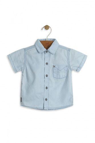 Camisa Jeans Infantil up baby