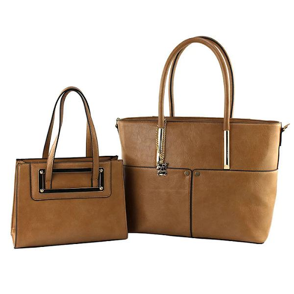 Kit Bolsa Elegance tote bag duas peças