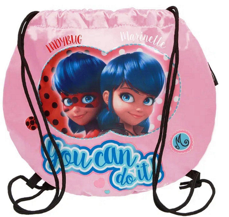 Bolsa Saco Miraculous LadyBug Fashion  - U