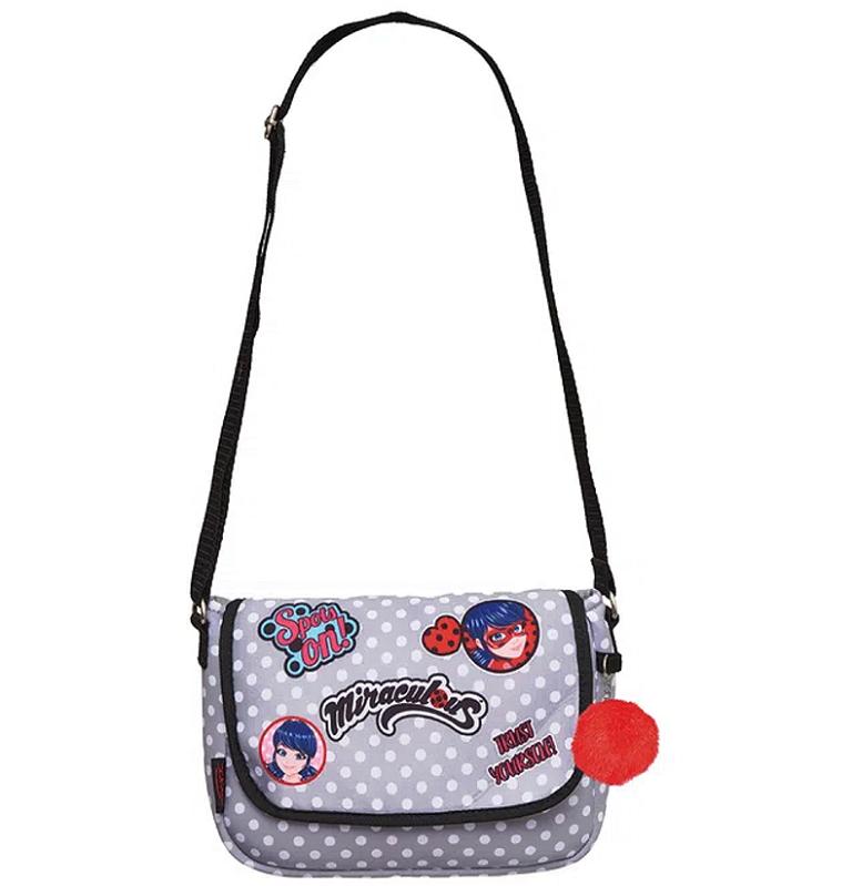 Bolsa transversal Miraculous Ladybug Fashion Poá em Neoprene