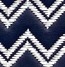 Azul-marinho Zigue-Zague