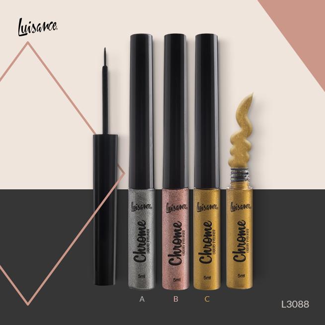Delineador Chrome Liquid Eyeliner Luisance - Cor A