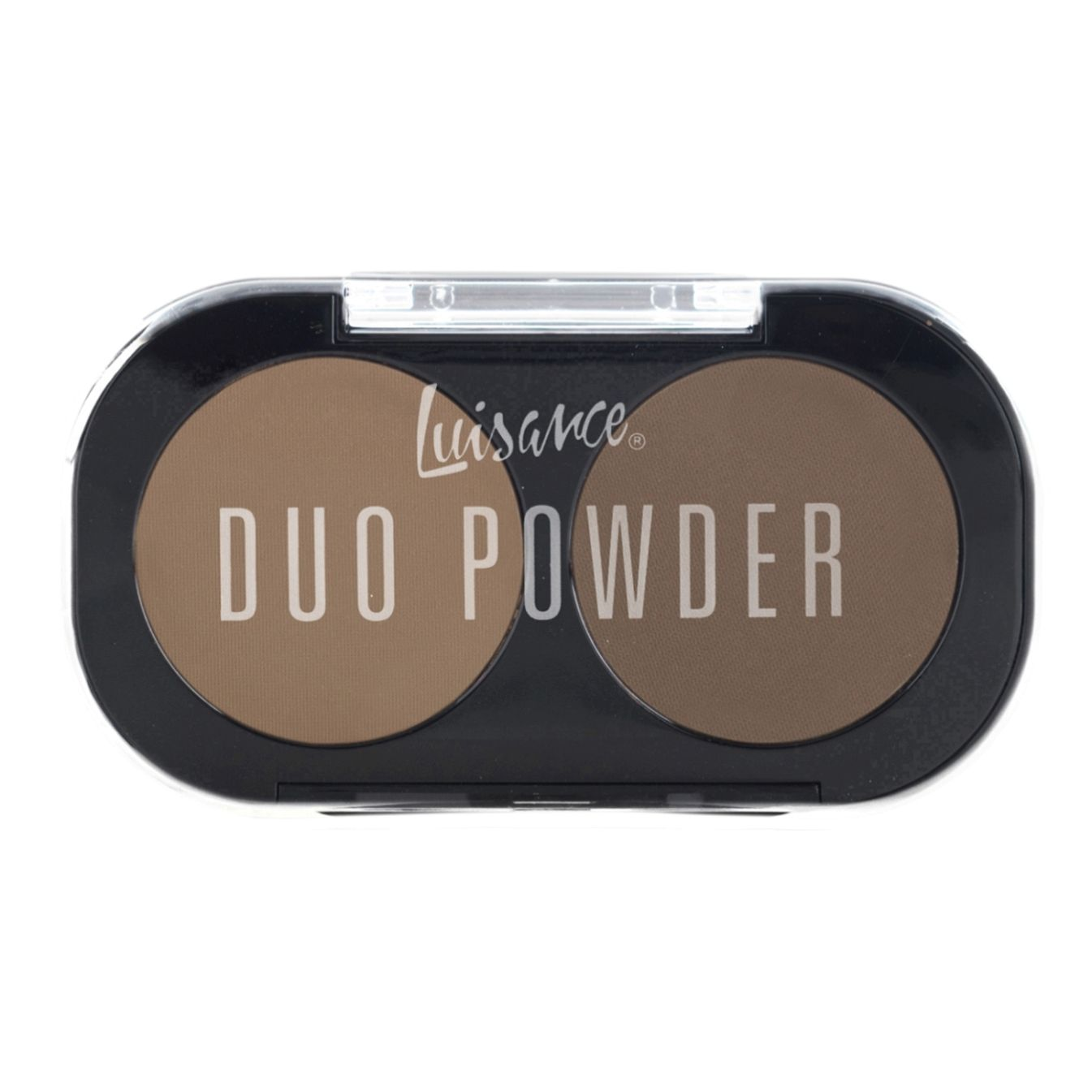 Duo de sombras para sobrancelhas Duo Powder Luisance - cor A