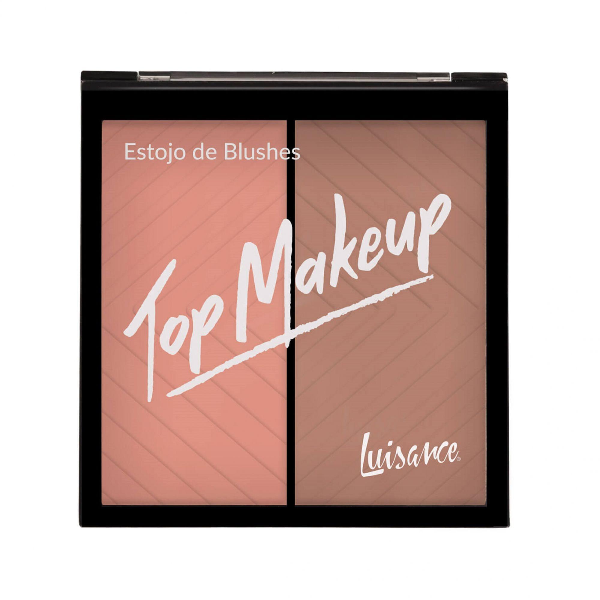 Estojo de Blushes Top Makeup Luisance - L1038 cor A