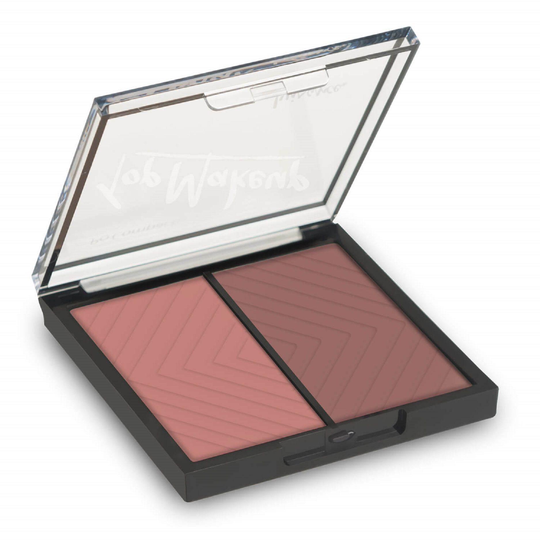 Estojo de Blushes Top Makeup Luisance - L1038 cor B
