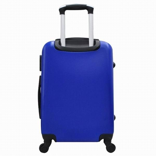 """Mala de Bordo Rígida Azul em ABS Tamanho P 20"""""""
