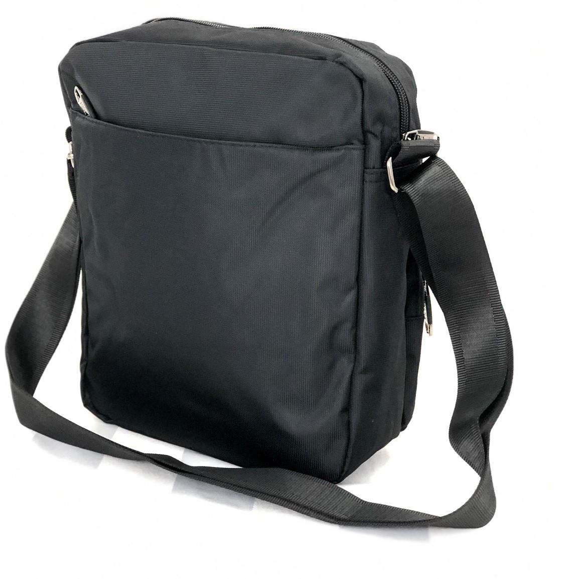 Bolsa Executiva Carteiro Tiracolo compartimento para Tablet denlex Preta