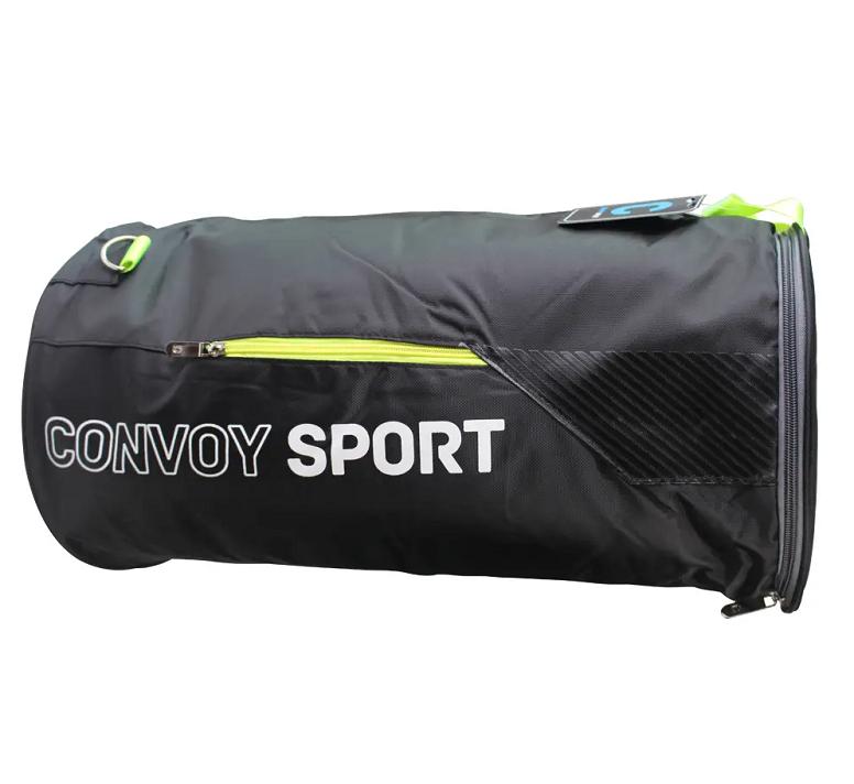 Sacola Academia / Bolsa Esportiva Academia Convoy Sport Yin's Preta