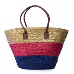 Bolsa Palha Tricolor  REF:KCA0168