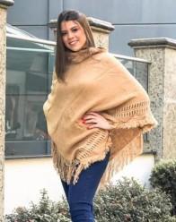 Poncho Feminino com Gola REF:20653